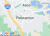 Open Google Map of Pleasanton Venues