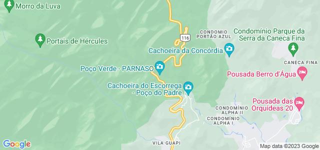 Poço verde, Serra dos Órgãos, Guapimirim