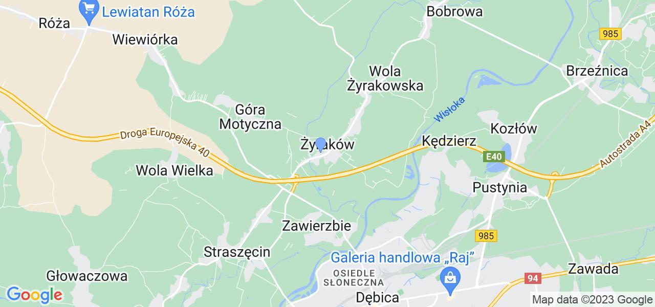Dostępne w Żyrakowie lokalizacje punktów nadania, z których możesz skorzystać, chcąc wysłać turbinę do regeneracji w największym serwisie w Polsce