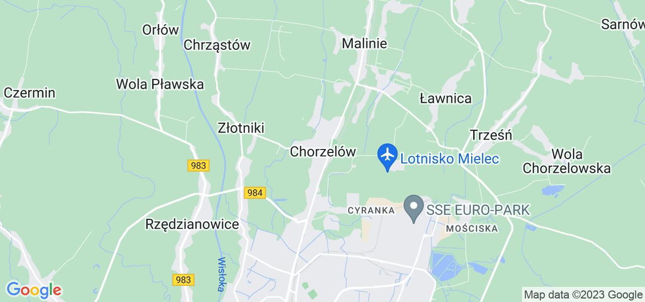 Dostępne w Chorzelowie lokalizacje punktów nadania, z których możesz skorzystać, chcąc wysłać turbinę do regeneracji w największym serwisie w Polsce
