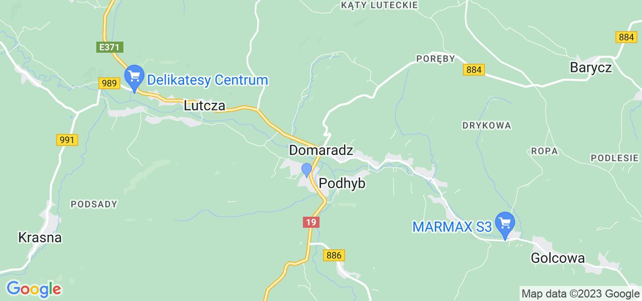 Dostępne w Domaradzu lokalizacje punktów nadania, z których możesz skorzystać, chcąc wysłać turbinę do regeneracji w największym serwisie w Polsce