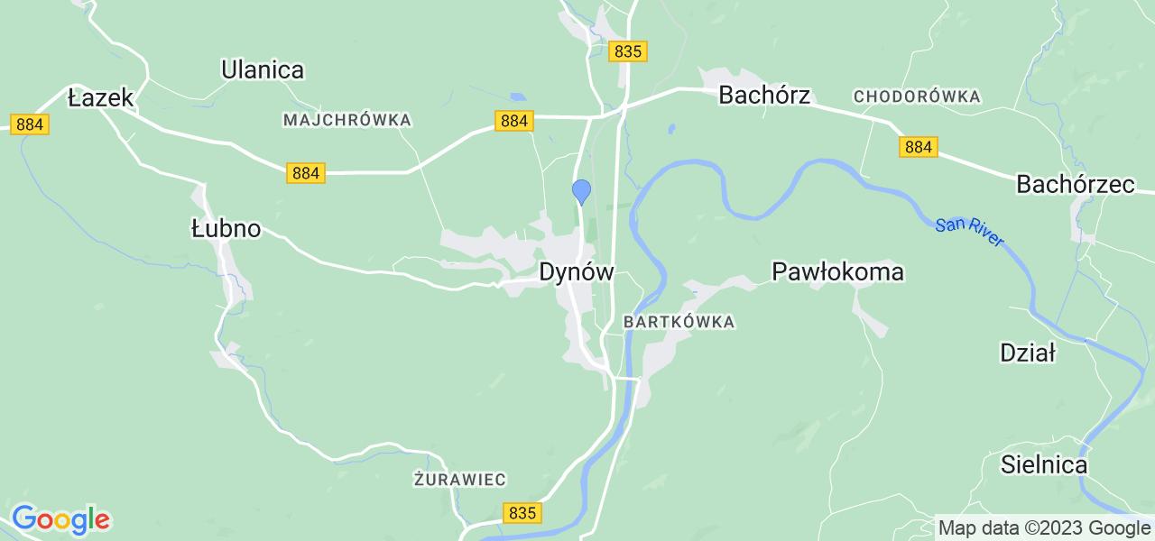 Dostępne w Dynowie lokalizacje punktów nadania, z których możesz skorzystać, chcąc wysłać turbinę do regeneracji w największym serwisie w Polsce