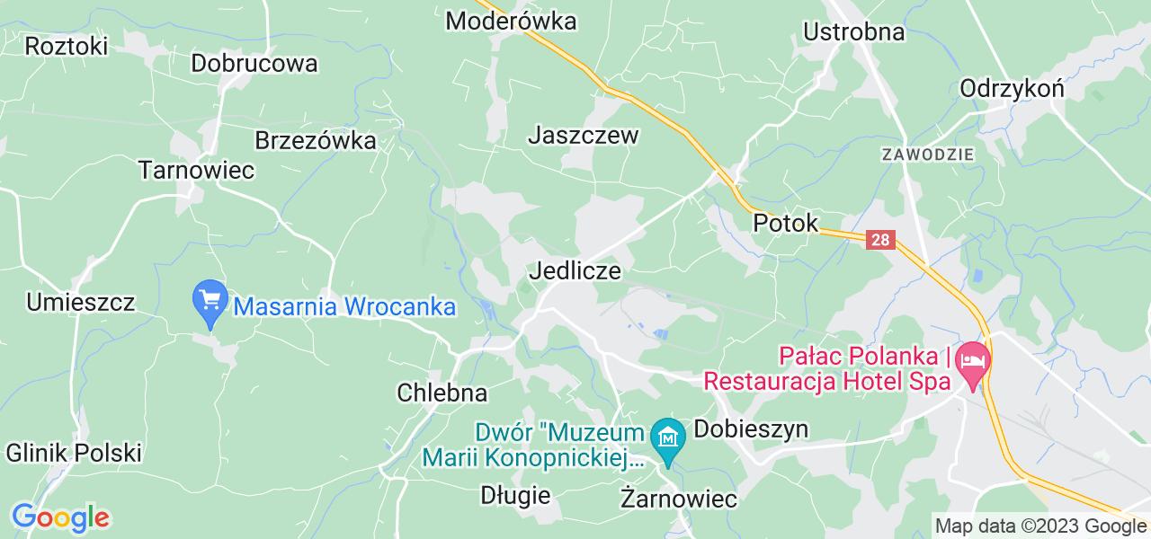 Dostępne w Jedliczu lokalizacje punktów nadania, z których możesz skorzystać, chcąc wysłać turbinę do regeneracji w największym serwisie w Polsce