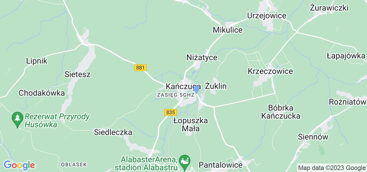 Dostępne w Kańczudze lokalizacje punktów nadania, z których możesz skorzystać, chcąc wysłać turbinę do regeneracji w największym serwisie w Polsce