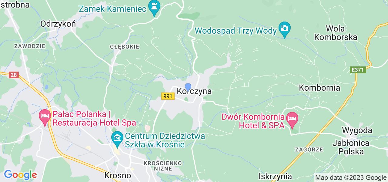 Dostępne w Korczynie lokalizacje punktów nadania, z których możesz skorzystać, chcąc wysłać turbinę do regeneracji w największym serwisie w Polsce