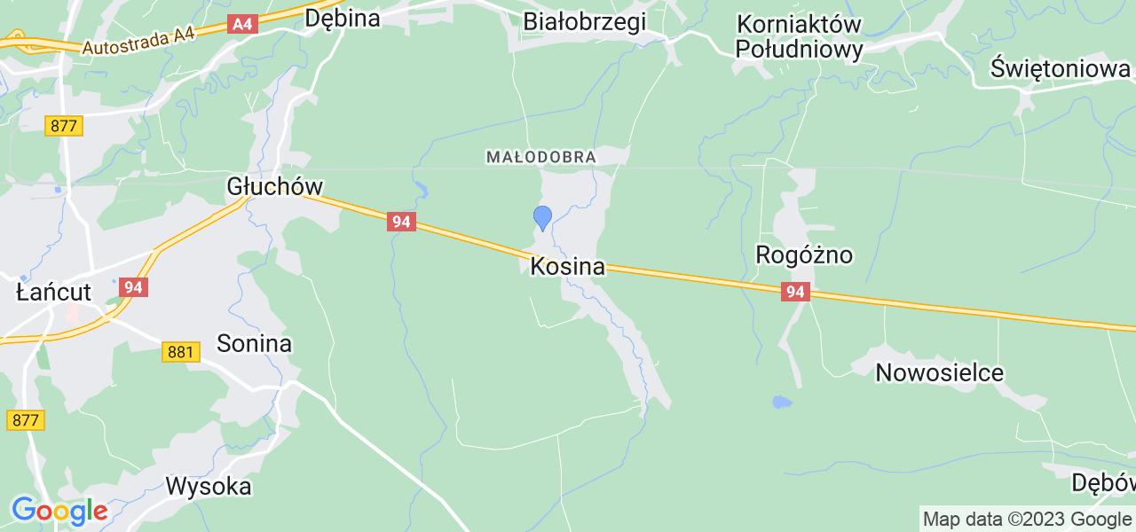 Dostępne w Kosinie lokalizacje punktów nadania, z których możesz skorzystać, chcąc wysłać turbinę do regeneracji w największym serwisie w Polsce