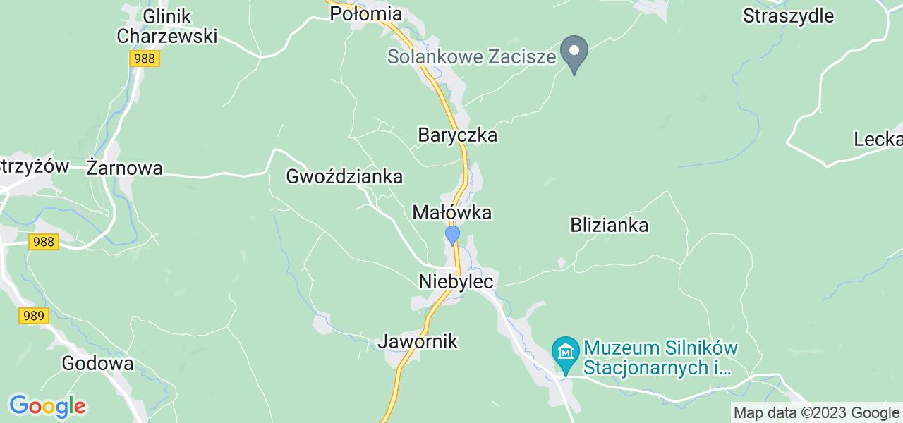 Dostępne w Małówce lokalizacje punktów nadania, z których możesz skorzystać, chcąc wysłać turbinę do regeneracji w największym serwisie w Polsce