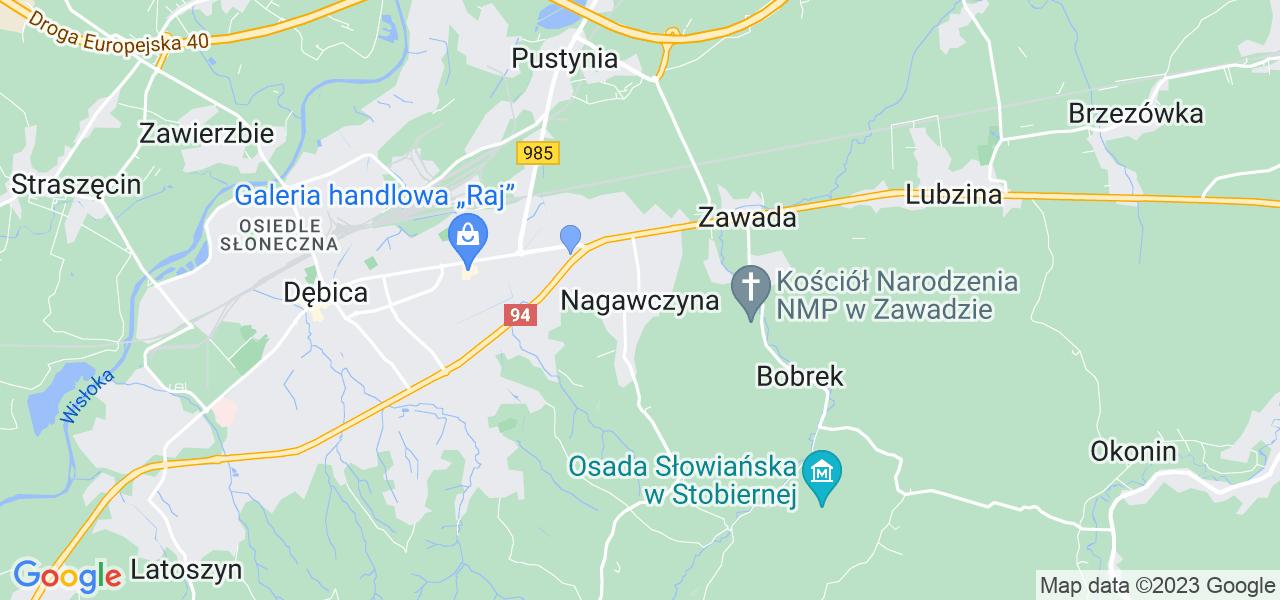 Dostępne w Nagawczynie lokalizacje punktów nadania, z których możesz skorzystać, chcąc wysłać turbinę do regeneracji w największym serwisie w Polsce