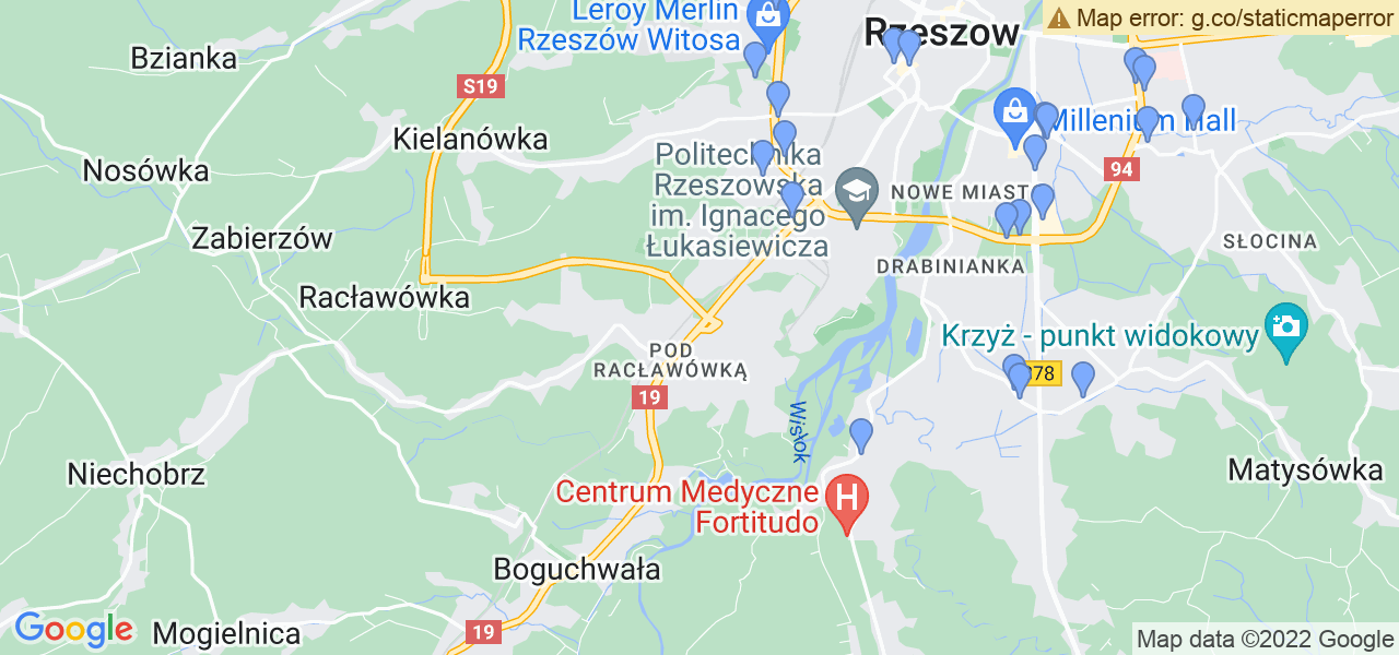 Dostępne w Rzeszowie lokalizacje punktów nadania, z których możesz skorzystać, chcąc wysłać turbinę do regeneracji w największym serwisie w Polsce