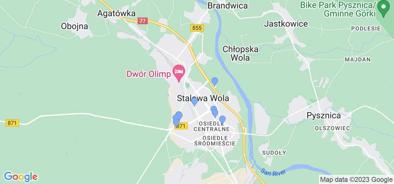 Dostępne w Stalowej Woli lokalizacje punktów nadania, z których możesz skorzystać, chcąc wysłać turbinę do regeneracji w największym serwisie w Polsce