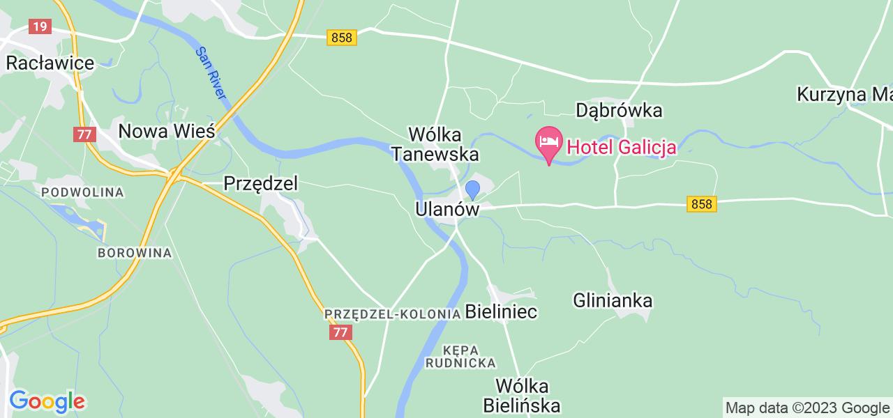 Dostępne w Ulanowie lokalizacje punktów nadania, z których możesz skorzystać, chcąc wysłać turbinę do regeneracji w największym serwisie w Polsce