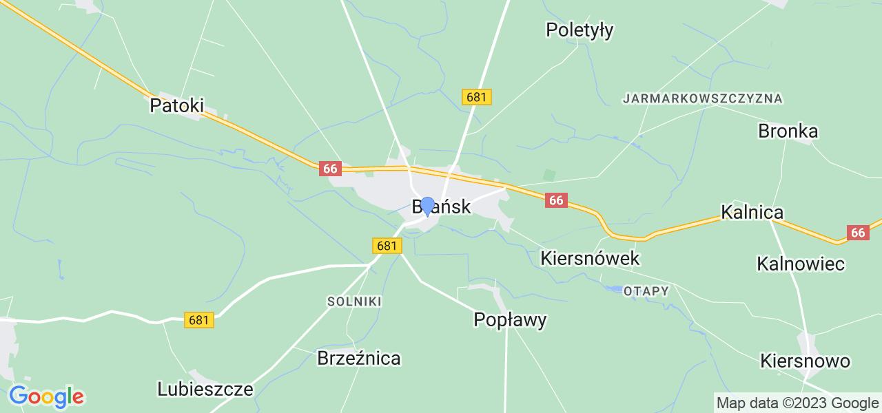 Dostępne w Brańsku lokalizacje punktów nadania, z których możesz skorzystać, chcąc wysłać turbinę do regeneracji w największym serwisie w Polsce
