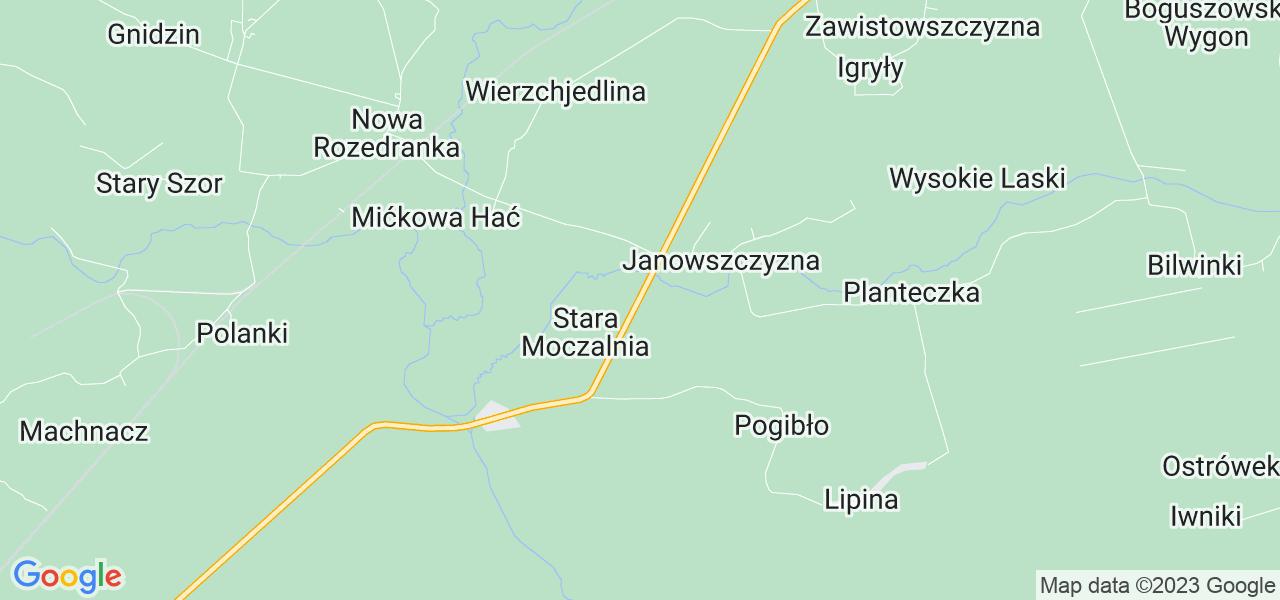Dostępne w Czarnej Białostockiej lokalizacje punktów nadania, z których możesz skorzystać, chcąc wysłać turbinę do regeneracji w największym serwisie w Polsce