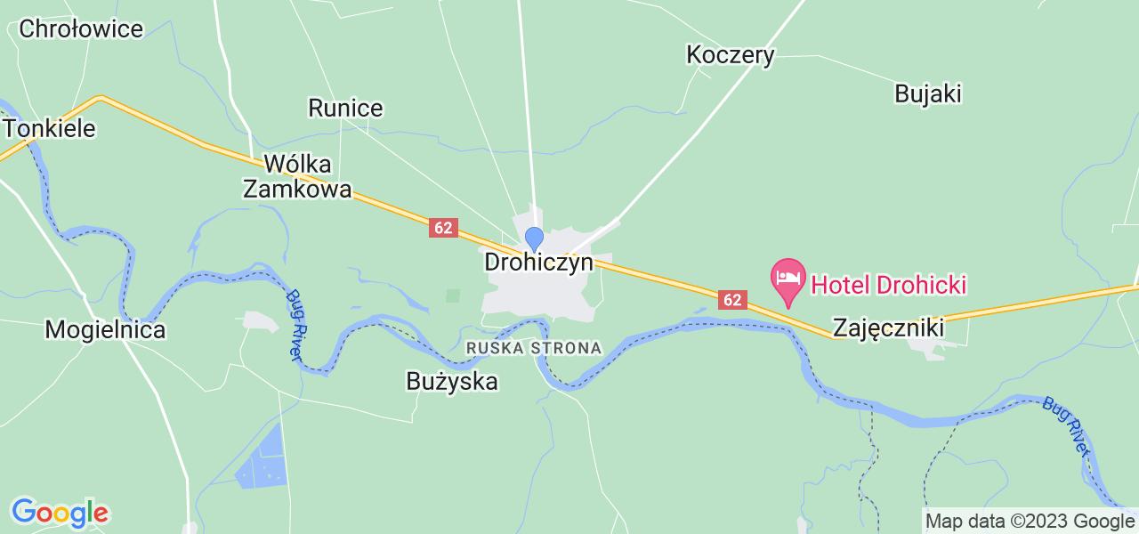 Dostępne w Drohiczynie lokalizacje punktów nadania, z których możesz skorzystać, chcąc wysłać turbinę do regeneracji w największym serwisie w Polsce