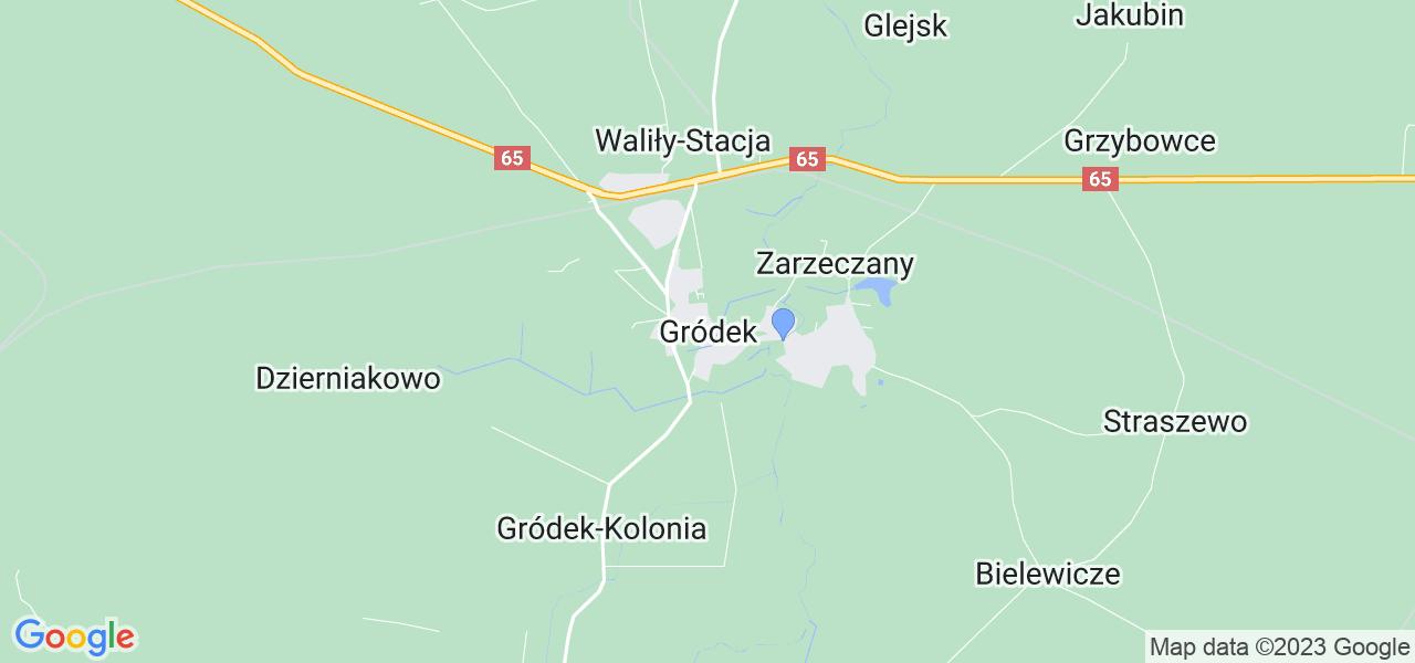 Dostępne w Gródku lokalizacje punktów nadania, z których możesz skorzystać, chcąc wysłać turbinę do regeneracji w największym serwisie w Polsce