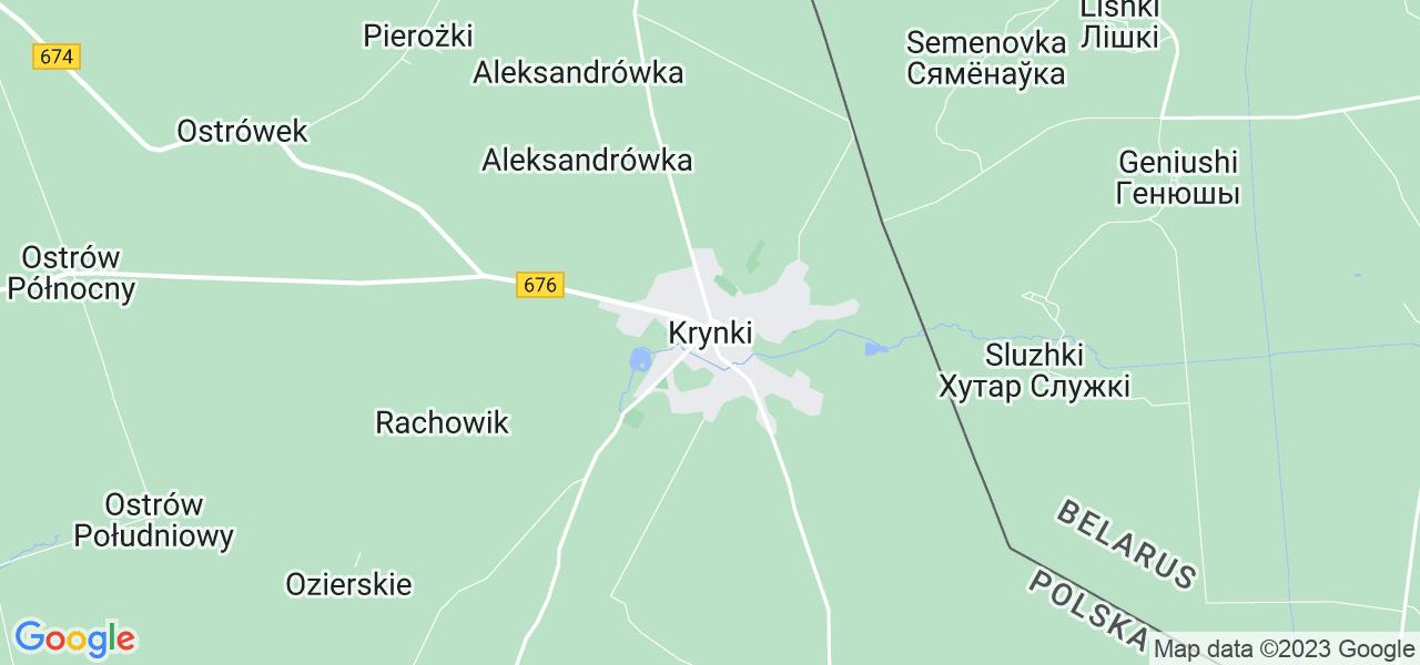 Dostępne w Krynkach lokalizacje punktów nadania, z których możesz skorzystać, chcąc wysłać turbinę do regeneracji w największym serwisie w Polsce
