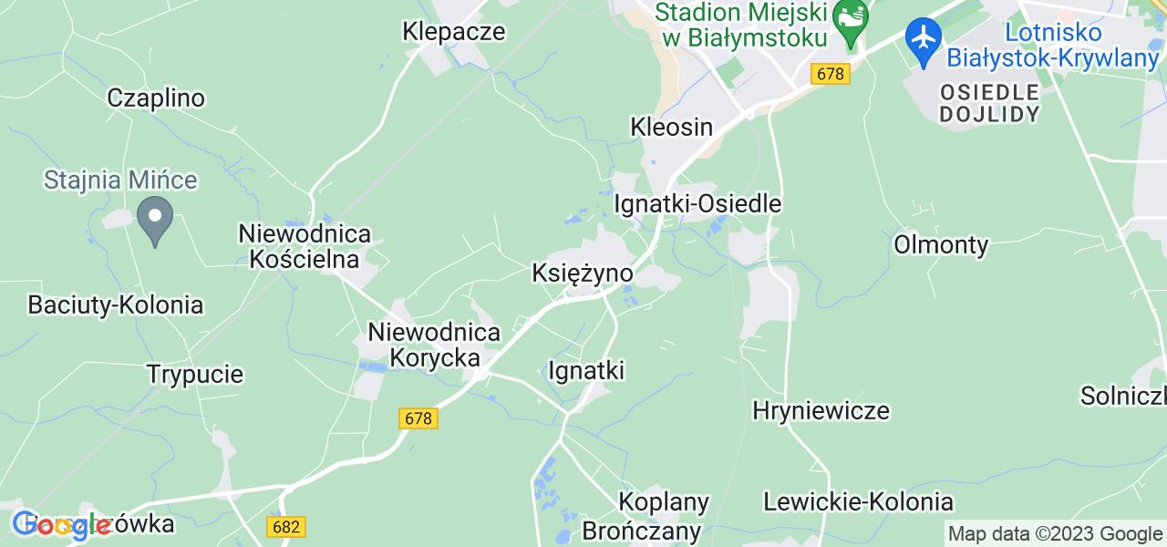 Dostępne w Księżynie lokalizacje punktów nadania, z których możesz skorzystać, chcąc wysłać turbinę do regeneracji w największym serwisie w Polsce