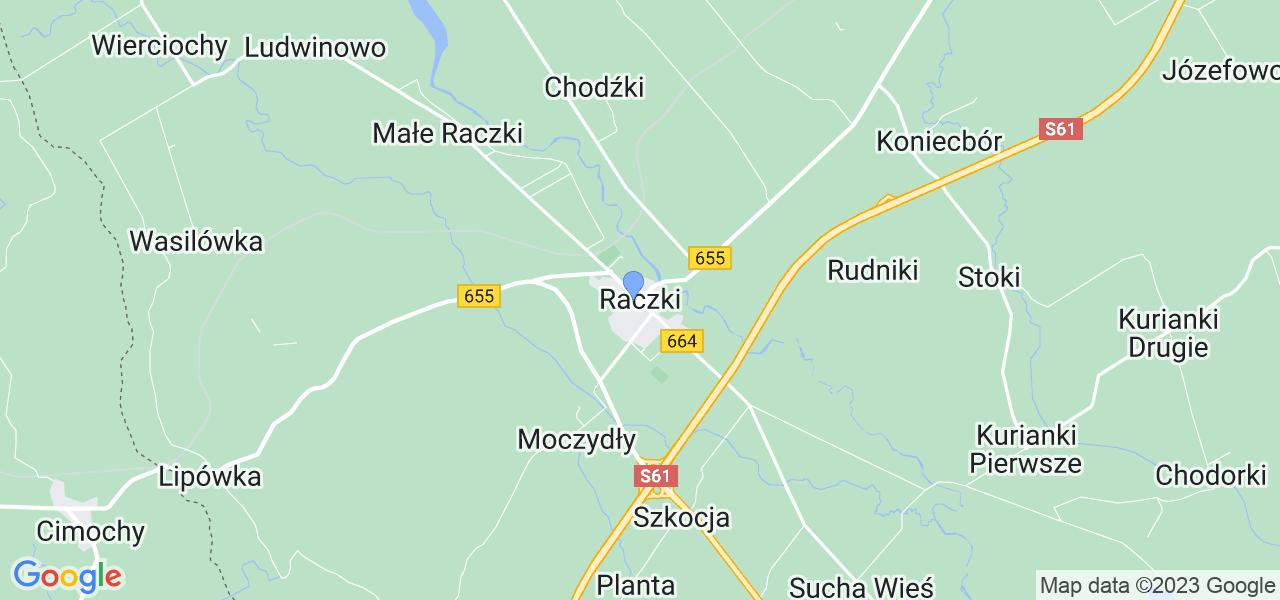 Dostępne w Raczkach lokalizacje punktów nadania, z których możesz skorzystać, chcąc wysłać turbinę do regeneracji w największym serwisie w Polsce