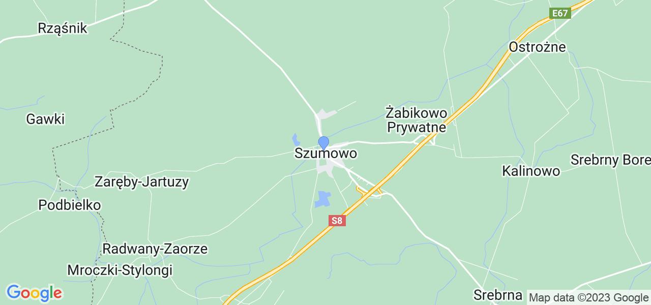 Dostępne w Szumowie lokalizacje punktów nadania, z których możesz skorzystać, chcąc wysłać turbinę do regeneracji w największym serwisie w Polsce