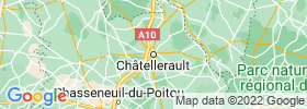 Chatellerault map