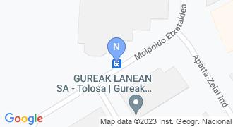 Tolosaldea Garatzen mapa