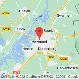 Google map of Het Arresthuis, Roermond