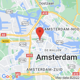 Google map of Westergasfabriek, Amsterdam