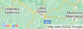 Lubny map