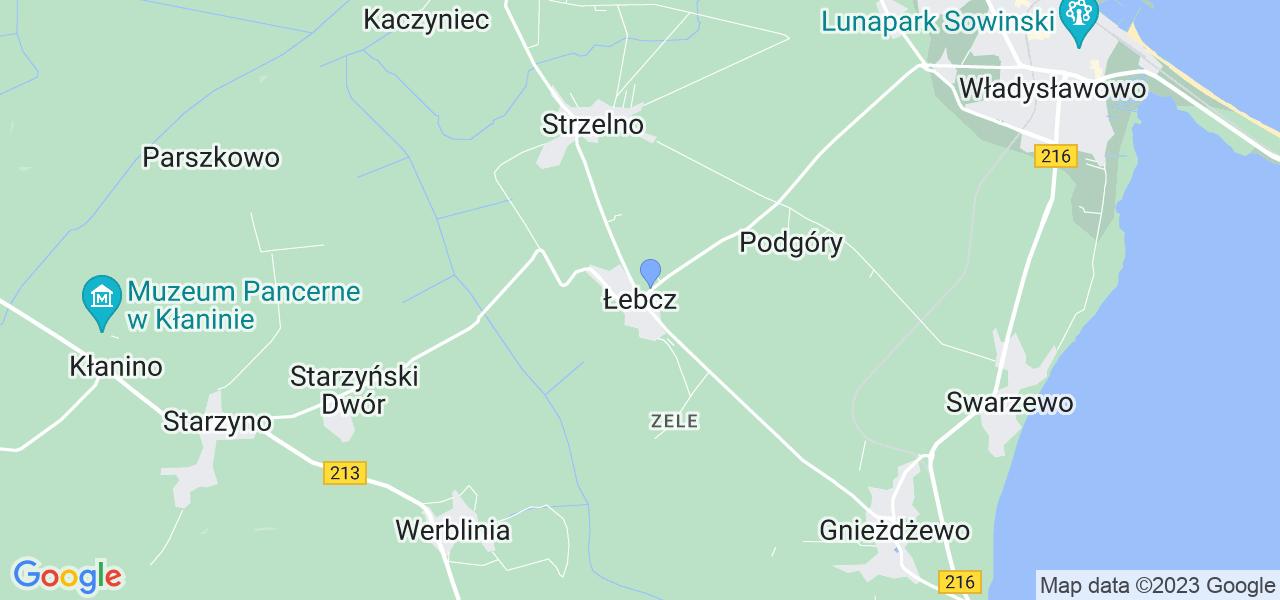Dostępne w Łebczu lokalizacje punktów nadania, z których możesz skorzystać, chcąc wysłać turbinę do regeneracji w największym serwisie w Polsce
