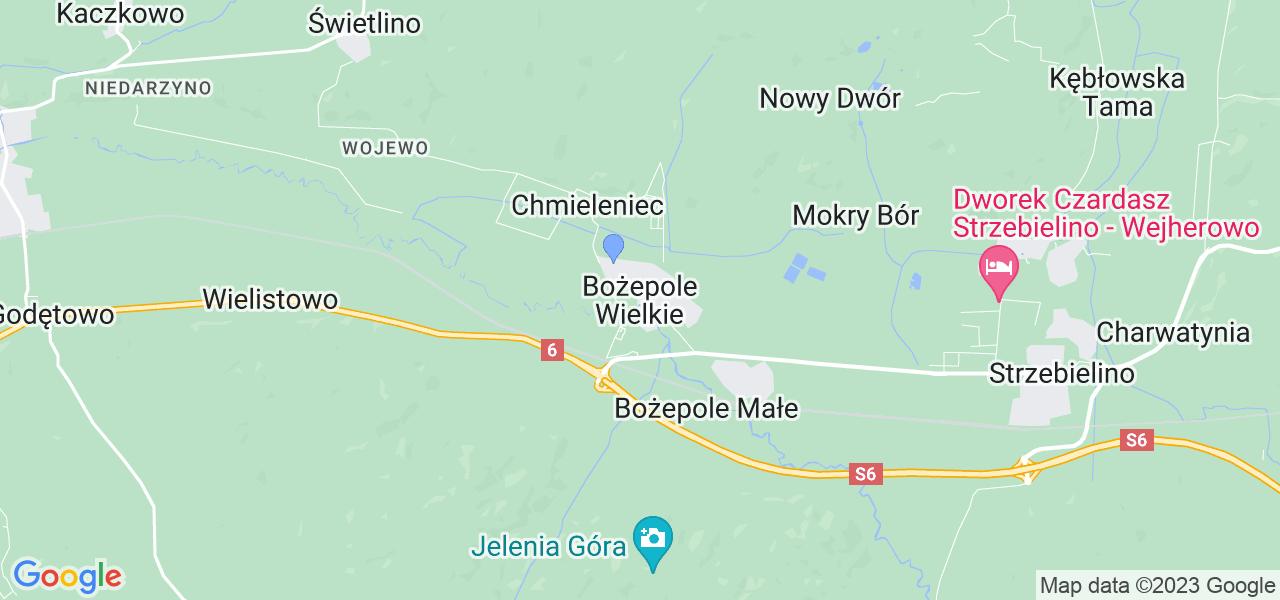 Dostępne w Bożepolu Wielkym lokalizacje punktów nadania, z których możesz skorzystać, chcąc wysłać turbinę do regeneracji w największym serwisie w Polsce