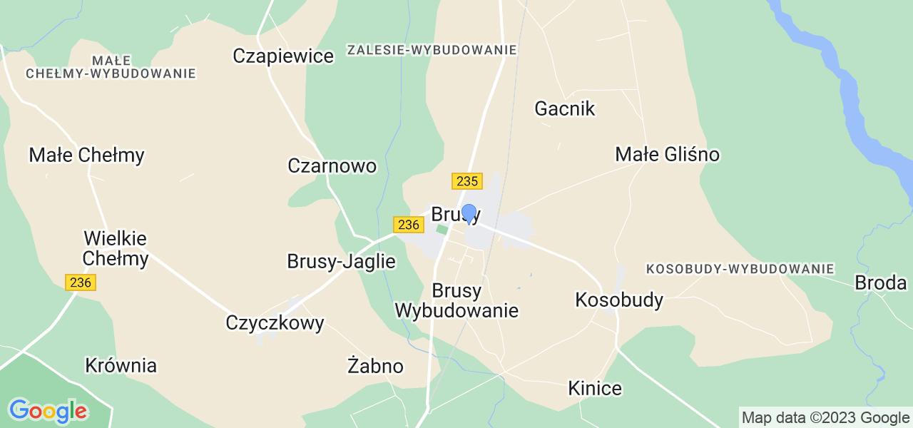 Dostępne w Brusach lokalizacje punktów nadania, z których możesz skorzystać, chcąc wysłać turbinę do regeneracji w największym serwisie w Polsce