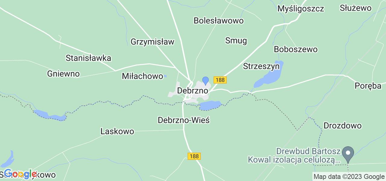 Dostępne w Debrznie lokalizacje punktów nadania, z których możesz skorzystać, chcąc wysłać turbinę do regeneracji w największym serwisie w Polsce
