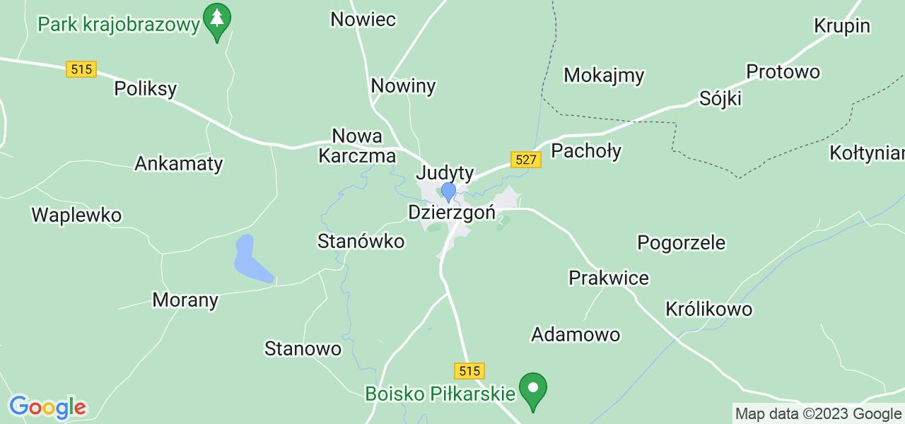 Dostępne w Dzierzgoniu lokalizacje punktów nadania, z których możesz skorzystać, chcąc wysłać turbinę do regeneracji w największym serwisie w Polsce