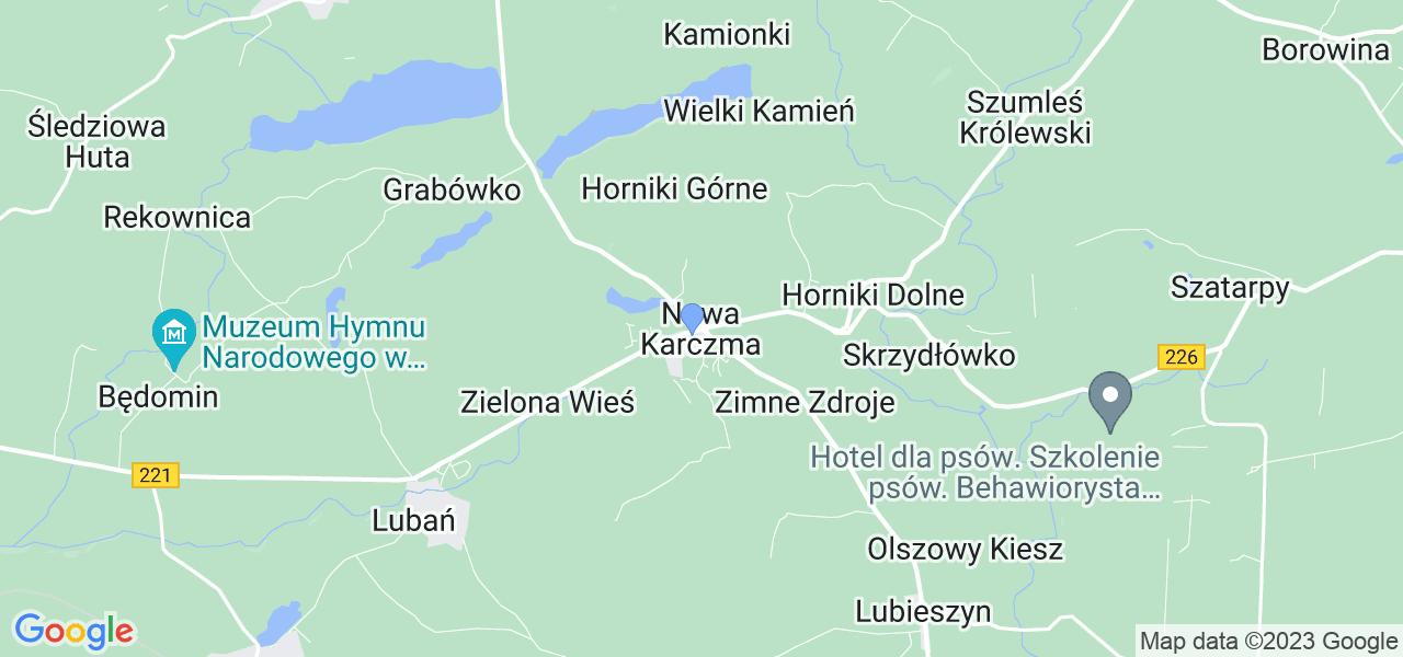 Dostępne w Nowej Karczmie lokalizacje punktów nadania, z których możesz skorzystać, chcąc wysłać turbinę do regeneracji w największym serwisie w Polsce