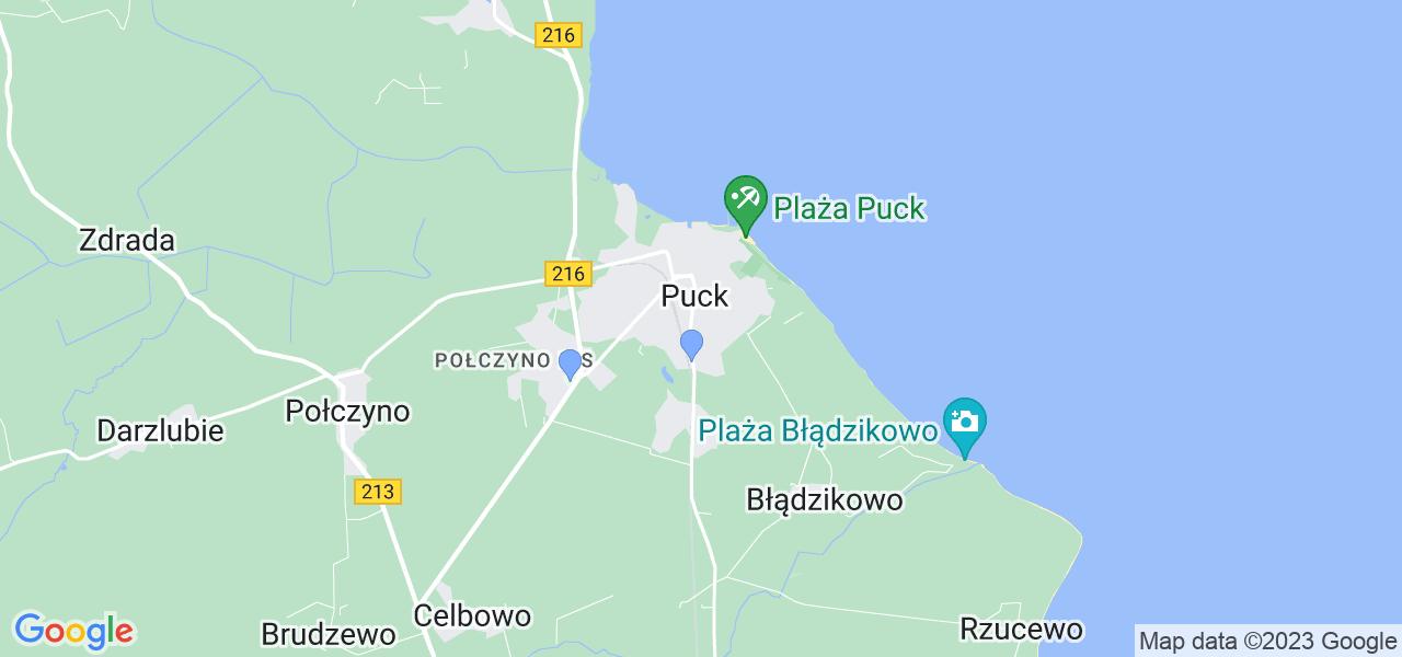 Dostępne w Pucku lokalizacje punktów nadania, z których możesz skorzystać, chcąc wysłać turbinę do regeneracji w największym serwisie w Polsce
