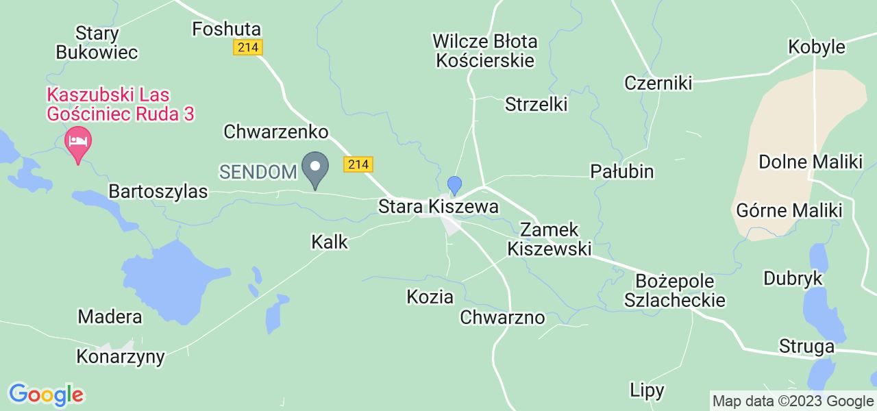 Dostępne w Starej Kiszewie lokalizacje punktów nadania, z których możesz skorzystać, chcąc wysłać turbinę do regeneracji w największym serwisie w Polsce
