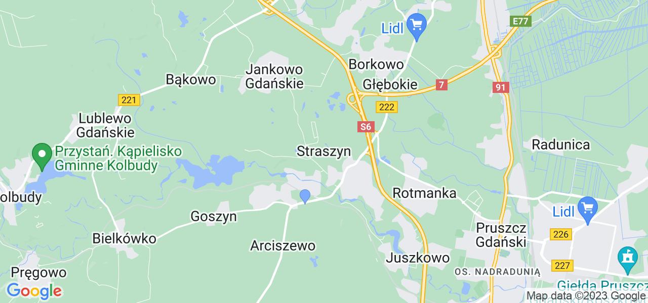 Dostępne w Straszynie lokalizacje punktów nadania, z których możesz skorzystać, chcąc wysłać turbinę do regeneracji w największym serwisie w Polsce