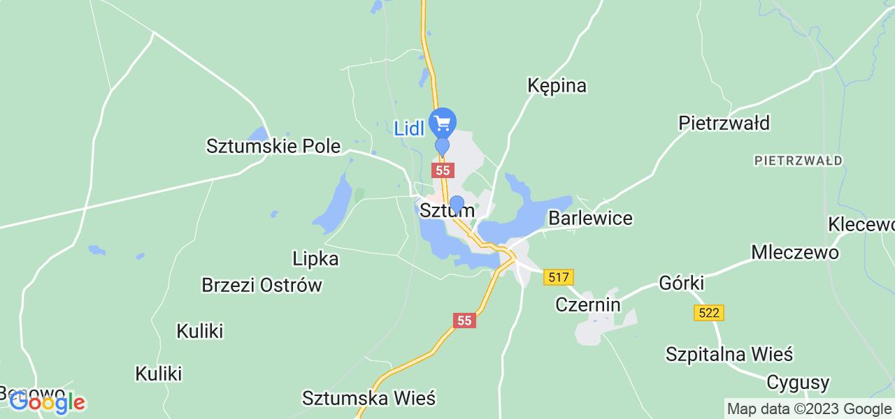 Dostępne w Sztumie lokalizacje punktów nadania, z których możesz skorzystać, chcąc wysłać turbinę do regeneracji w największym serwisie w Polsce
