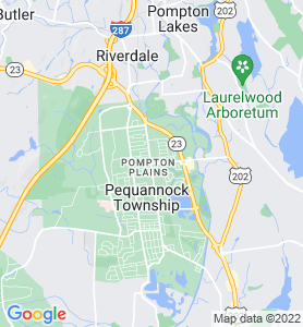 Pompton Plains NJ Map