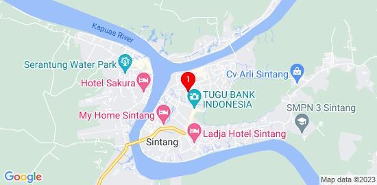 Google Map of Pondok Pesantren Darul Ma'arif Sintang