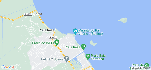 Ponta do Pai Vitório, Praia Rasa, Búzios - RJ