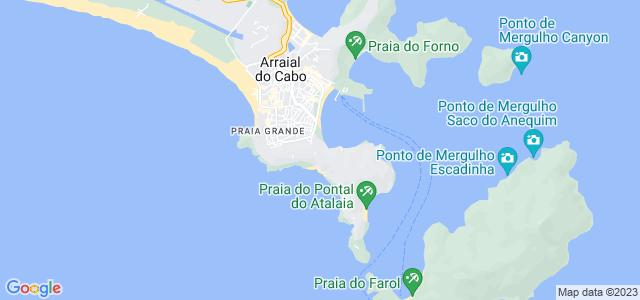 Pontal do Atalaia, Arraial do Cabo - RJ