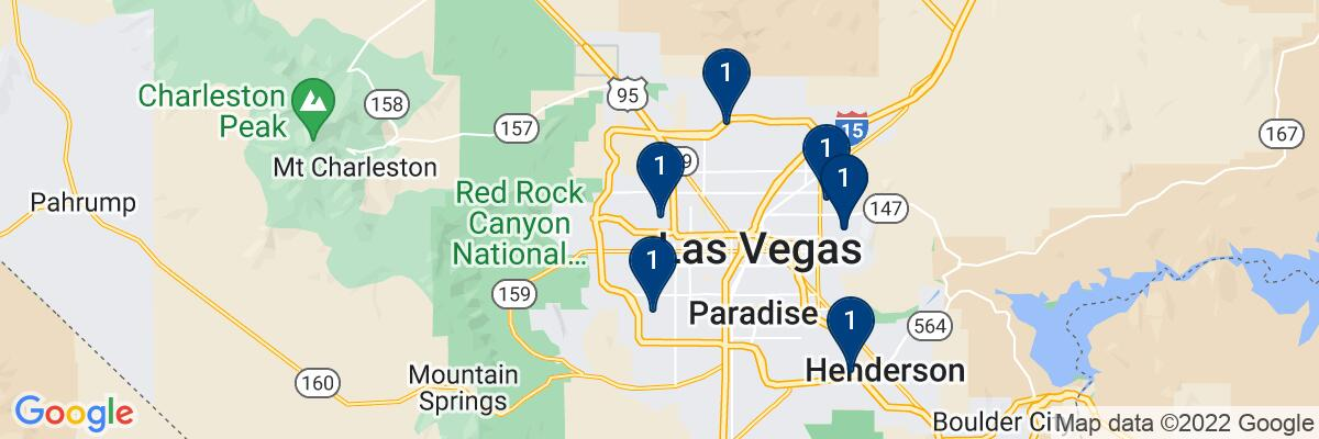 Areas Where We Serve pool services in NV