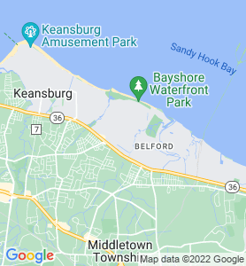 Port Monmouth NJ Map