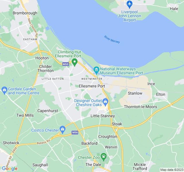 Website Designer Port Google map of location