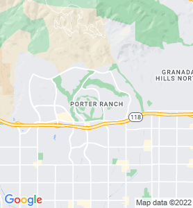 Porter Ranch CA Map
