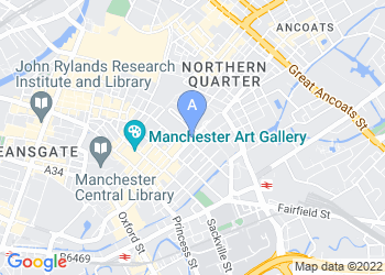 Map for Mercure Manchester Piccadilly Hotel