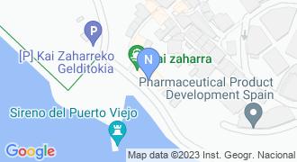 Portu zaharra mapa