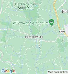 Pottersville NJ Map