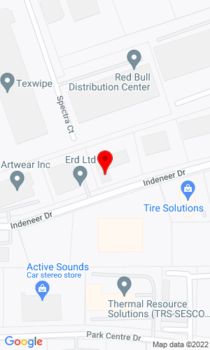Google Map of Powerscreen Mid-Atlantic, Inc. 715 Indeneer Drive, Kernersville, NC, 27284